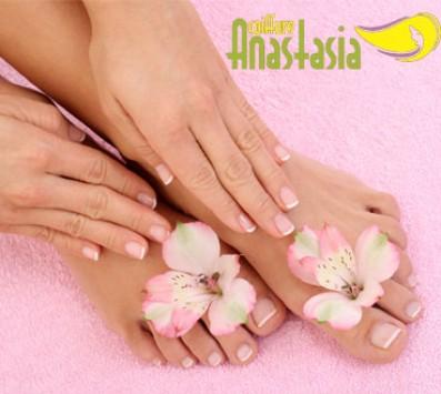 Ημιμόνιμο Manicure +Pedicure Περιστέρι - 15€ από 40€ (Έκπτωση 63%) για ένα Manic nails