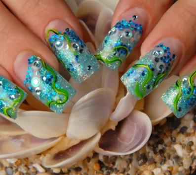 Τεχνητά Νύχια + Nail art εικόνα