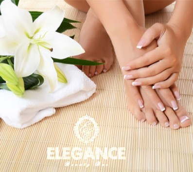 Ημιμόνιμο Manicure - Ημιμόνιμο Manicure+Pedicure - Περιστέρι - 7€ για ένα Ημιμόνιμο Manicure επιλογής απο απλό ή γαλλικό ή 14€ για ένα Ολοκληρωμένο Manicure με απλή βαφή, ένα Ολοκληρωμένο Pedicure με απλή Βαφή και ένα Καθαρισμό, Σχηματισμό Φρυδιών (Έκπτωση 53%), από το «Elegance beauty bar» στο Περιστέρι!!!