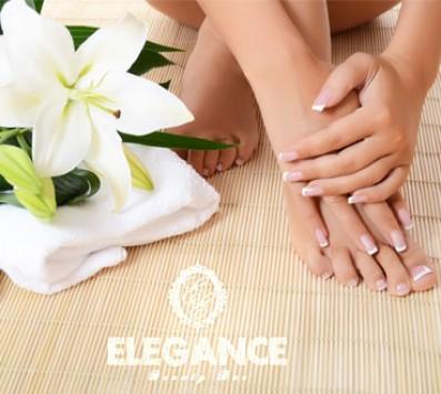 Manicure+Pedicure+Φρύδια - Ημιμόνιμο Manicure+Pedicure - Περιστέρι - 7€ για ένα Ημιμόνιμο Manicure επιλογής απο απλό ή γαλλικό ή 14€ για ένα Ολοκληρωμένο Manicure με απλή βαφή, ένα Ολοκληρωμένο Pedicure με απλή Βαφή και ένα Καθαρισμό, Σχηματισμό Φρυδιών (Έκπτωση 53%), από το «Elegance beauty bar» στο Περιστέρι!!! εικόνα