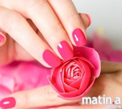 Ημιμόνιμο Manicure - Κυψέλη|Πατήσια - 9€ από 18€ (Έκπτωση 50%) για ένα Ημιμόνιμο Manicure! Από τα μοντέρνα κομμωτήρια «Matin.a Hairstyling», στην Κυψέλη και στα Πατήσια!!! εικόνα