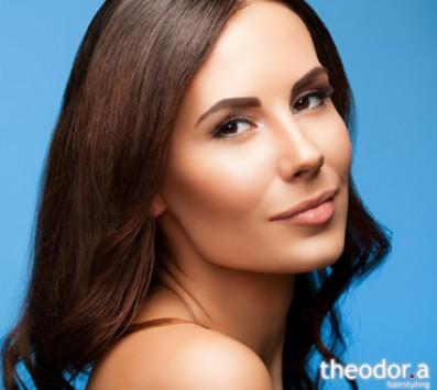 Βαφή Ρίζας+Κούρεμα+Θεραπεία+ Χτένισμα+Ημιμόνιμο Manicure - Κυψέλη|Γαλάτσι - 35€ από 78€ (Έκπτωση 55%) για μία Βαφή Ρίζας, ένα Κούρεμα, ένα Χτένισμα επιλογής από ίσιο ή φλου , ένα Λούσιμο, μία Μάσκα Αναδόμησης για φυσική προστασία και λάμψη και ένα Ημιμόνιμο Manicure με με απλή βαφή! Mε τα κορυφαία προϊόντα Lοreal και Schwarzkopf και εφαρμογή σε όλους τους τύπους μαλλιών καθώς και με προϊόντα Essie για την περιποίηση των άκρων σας, στα μοντέρνα κομμωτήρια «Theodor.a Hairstyling», στην Κυψέλη και στο Γαλάτσι!!! εικόνα