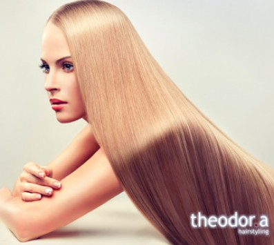 Ισιωτική Θεραπεία Brazilian Keratin - Κυψέλη|Γαλάτσι - 49€ από 100€ (Έκπτωση 51%) για μια Ισιωτική θεραπεία με το Bio Hair Balux Brazilian ή Brazilian Keratin system, το επαναστατικό σύστημα λείανσης και επανόρθωσης των μαλλιών, που σας χαρίζει μαλλιά ίσια, μεταξένια, και χωρίς φριζάρισμα από 3-6 μήνες,για εντυπωσιακή εμφάνιση που μαγνητίζει τα βλέμματα, στα μοντέρνα κομμωτήρια «Theodor.a Hairstyling», στην Κυψέλη και στο Γαλάτσι!!! εικόνα