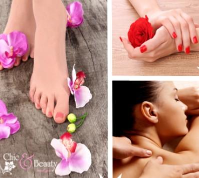 Πακέτο Περιποίησης - Περιστέρι - 22€ από 80(Έκπτωση 73%) για ένα πακέτο περιποίησης που περιλαμβάνει: ένα Ημιμόνιμο Μanicure απλό ή γαλλικό, ένα Pedicure με απλή βαφή επιλογής από απλό ή γαλλικό και Full Body Massage διάρκειας 50 λεπτών, από το Εργαστήριο αισθητικής «Chic and Beauty Med Spa» στo Περιστέρι!!! εικόνα