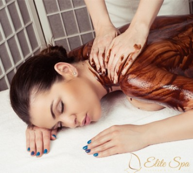 Full Body Chocolate Relax Massage 90' - Κολωνάκι - 27€ από 106€ (Έκπτωση 75%) για ένα Peeling Μασάζ με κόκκους Σοκολάτας και ένα Full Body Relax Massage με Αιθέρια Έλαια Σοκολάτας, συνολικής διάρκειας 90 Λεπτών! Το peeling θα αφαιρέσει τα νεκρά κύτταρα της επιδερμίδας σας και θα αφήσει το δέρμα σας λείο και σφριγηλό! Απολαύστε τις μαγικές ιδιότητες της Σοκολάτας σε μια μοναδική θεραπεία, που θα σας χαρίσει βελούδινη επιδερμίδα ενώ θα σας απαλλάξει από το στρες, στον πολυτελή χώρο του «Elite Spa»!!! εικόνα