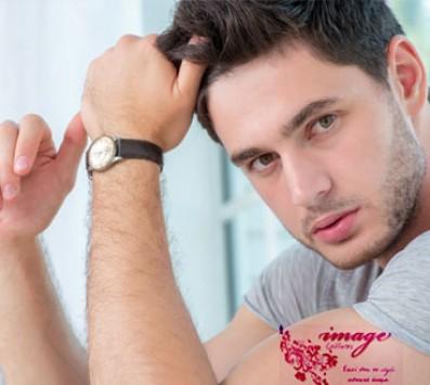 1 Aνδρικό Κούρεμα, ένα Λούσιμο, ένα Styling και μία Θεραπεία Tριχόπτωσης των μαλλιών, από το κομμωτήριο «Image Coiffure» στο Νέο Κόσμο. εικόνα