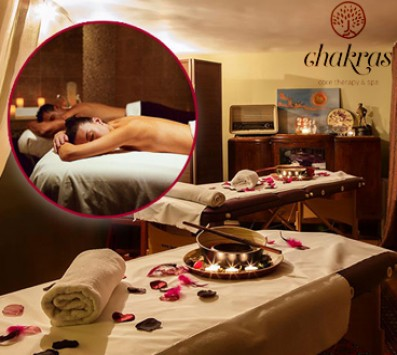 Wild Spices Therapy Massage 80'|2 Ατόμων| Βούλα - 80€ από 200€ (Έκπτωση 60%) για ένα Wild Spices Therapy Massage με άρωμα …Ανατολής, συνολικής διάρκειας 130 λεπτών για 2 Άτομα που θα σας ταξιδέψει στον κόσμο των αρωμάτων, αποκλειστικά και μόνο για το μήνα των ερωτευμένων! Ζήστε μια αξέχαστη μέρα, που δημιουργήθηκε ειδικά για ζευγάρια από το ξεχωριστό χώρο ομορφιάς και ευεξίας «Chakras Core Therapy & Spa» στη Βούλα!!! εικόνα