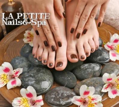 Ημιμόνιμο Manicure+Pedicure+Σχηματισμός Φρυδιών - Παγκράτι - 20€ από 40€ (Έκπτωσ nails