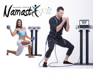 Personal Training - Νέο Ηράκλειο - 39€ από 105€ (Έκπτωση 63%) για 3 μαθήματα Personal Training με την μέθοδο της ηλεκτρικής μυϊκής διέγερσης (EMS technology)! Η κάθε συνεδρία ισοδυναμεί με 3 ώρες εντατικής προπόνησης στο γυμναστήριο, από το studio «NamastE-Fit» στο Νέο Ηράκλειο δίπλα στον ηλεκτρικό!!! εικόνα
