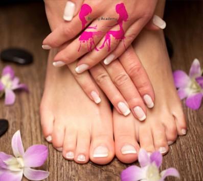 Manicure+Pedicure Ημιμόνιμo Καλλιθέα - 12€ από 57€ (Έκπτωση 79%) για ένα Spa Manicure και ένα Pedicure με Ημιμόνιμη ή απλή Βαφή επιλογής από απλό ή γαλλικό, μία Αποτρίχωση Άνω Χείλους με κλωστή και ένα Σχηματισμό Φρυδιών (Έκπτωση 79%), από το «Beauty Academy» στην Καλλιθέα!!! εικόνα