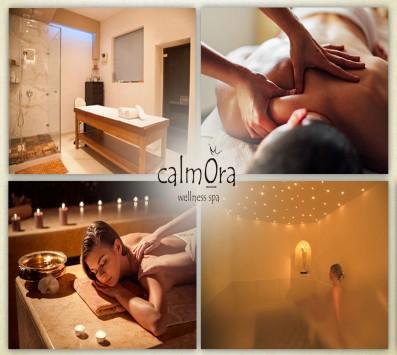 One Day Mediterranean Spa 90' - Μαρούσι - 29€ από 100€ (Έκπτωση 71%) για μια μοναδική εμπειρία 90 λεπτών ανανέωσης και χαλάρωσης που περιλαμβάνει ένα Herbal Steam Bath διάρκειας 30 λεπτών ή Χρωμοθεραπεία σε Aromatic Herbal Sauna, ένα Peeling Σώματος Mediterranean διάρκειας 10 λεπτών και ένα Antistress Massage με Βαλσαμόλαδο και Cocoa Butter για ενδυνάμωση KAI Ζεστό καλωσόρισμα με φυτικό τσάι διάρκειας 50 λεπτών! Απολαύστε τις ευεργετικές ιδιότητες του βούτυρο-κακάο που λιώνει αργά πάνω σας! Ελάτε να μας συναντήσετε σε μία πραγματική όαση χαλάρωσης στο «Calmora Wellness Spa» στο κέντρο του Αμαρουσίου!!! εικόνα