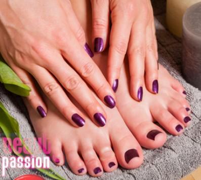 Ένα Pedicure+Foot Massage - Manicure|Pedicure- Περιστέρι - Ένα Manicure με Απλή ή Ημιμόνιμη Βαφή επιλογής από χρώμα ή γαλλικό και Δώρο η επόμενη Αφαίρεση Ημιμόνιμου με τοποθέτηση θεραπευτικής βάσης στα 7€ ή Ένα Pedicure με Απλή ή Ημιμόνιμη Βαφή και ένα Foot Massage στα 9€ (Έκπτωση 55%), από το «Beauty Passion» στο Περιστέρι!!! εικόνα