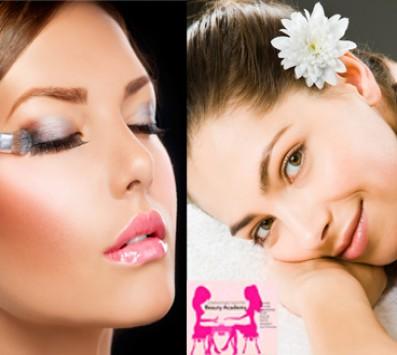 Σεμινάριο Μακιγιάζ+ Αισθητική Καλλιθέα - Oλοκληρωμένο Eκπαιδευτικό Σεμινάριο με Ταχύρυθμα Μαθήματα για Αισθητική και Επαγγελματικό Μακιγιάζ προσώπου διάρκειας 60 ωρών, χορήγηση Βεβαίωσης Σπουδών ισάξια με όλων των ιδιωτικών σχολών, από το «Beauty Academy» στην Καλλιθέα με 110€ από 800€ (Έκπτωση 86%)!!! εικόνα