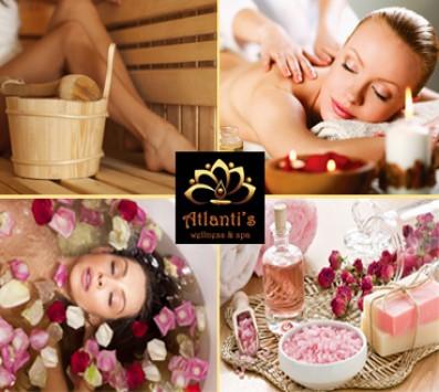 Rose Bath+Σάουνα+Μασάζ Αθήνα - 22€ από 80€ (Έκπτωση 73%) για ένα Rose Bath με Υδρομασάζ, άλατα και Epsom, Σάουνα διάρκειας 15 λεπτών και ένα Rose Massage διάρκειας 45 λεπτών με αιθέρια έλαια τριαντάφυλλου, από το κέντρο Ευεξίας «Atlanti's» στο Μετς στο κέντρο της Αθήνας!!! εικόνα