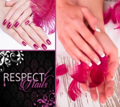 Ημιμόνιμο Manicure+Σχέδια Περιστέρι - 7€ από 15€ (Έκπτωση 53%) για ένα Manicure με Ημιμόνιμη βαφή επιλογής από απλό ή γαλλικό και Σχέδια, από το ολοκαίνουριο «Respect Nails» στο Περιστέρι πολύ κοντά στο Μετρό!!! εικόνα