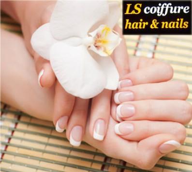Ημιμόνιμο Manicure+Σχέδια Νέα Ιωνία - 10€ από 20€ (Έκπτωση 50%) για ένα Manicure με Ημιμόνιμη βαφή επιλογής από απλό ή γαλλικό και δύο Σχέδια, από το ολοκαίνουριο κομμωτήριο «LS Coiffure» στη Νέα Ιωνία, ακριβώς δίπλα απο τον Ηλεκτρικό!!! εικόνα